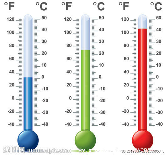 关于温度的作文