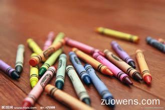 关于蜡笔的作文
