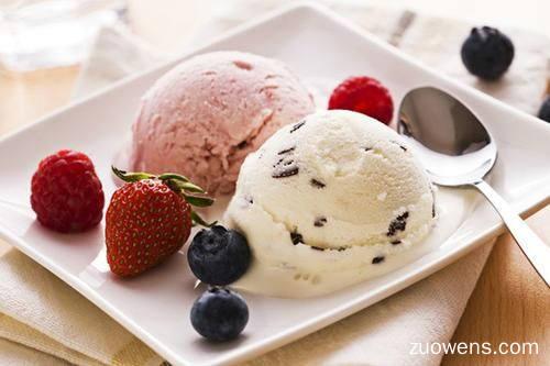 关于冰淇淋的作文