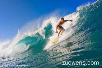 关于冲浪的作文