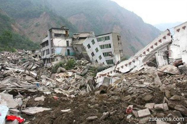 关于地震的作文