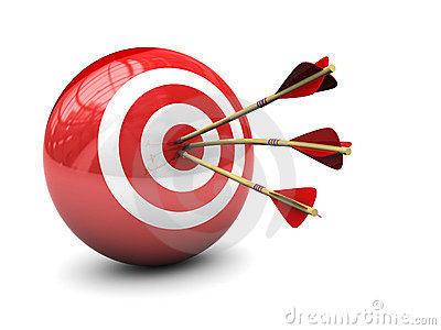 企业目标矢量图