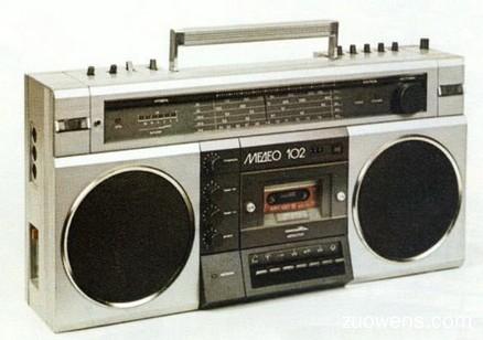 关于录音机的作文