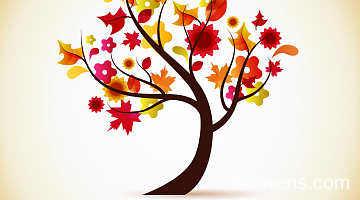 秋天的树叶作文450字图片