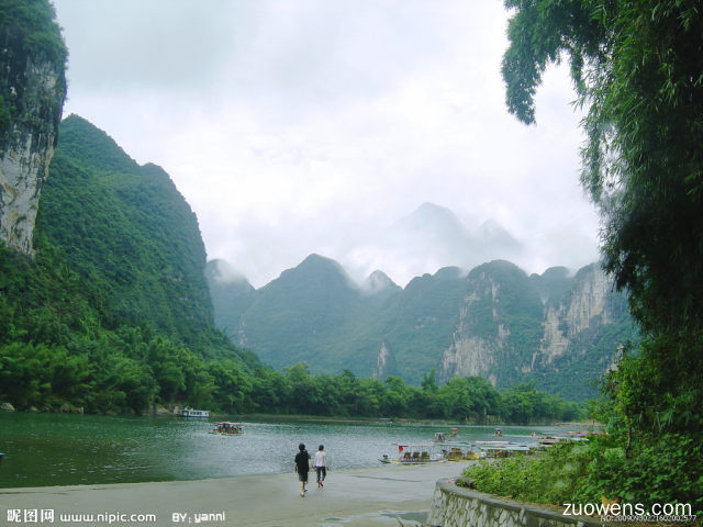 桂林真美啊作文300字
